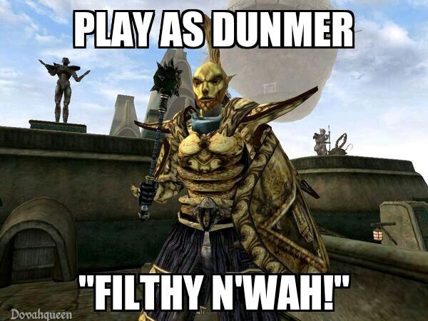 Classic Morrowind - meme