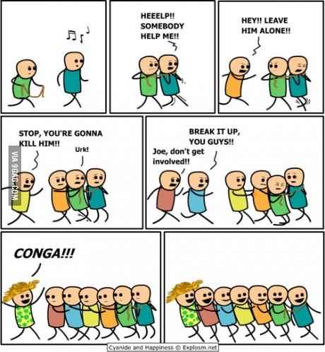 CONGA!! (follow for follow) - meme