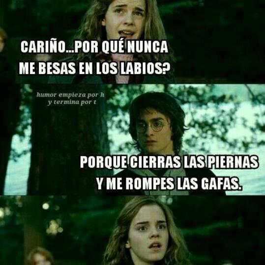 Harry es un loquillo - meme