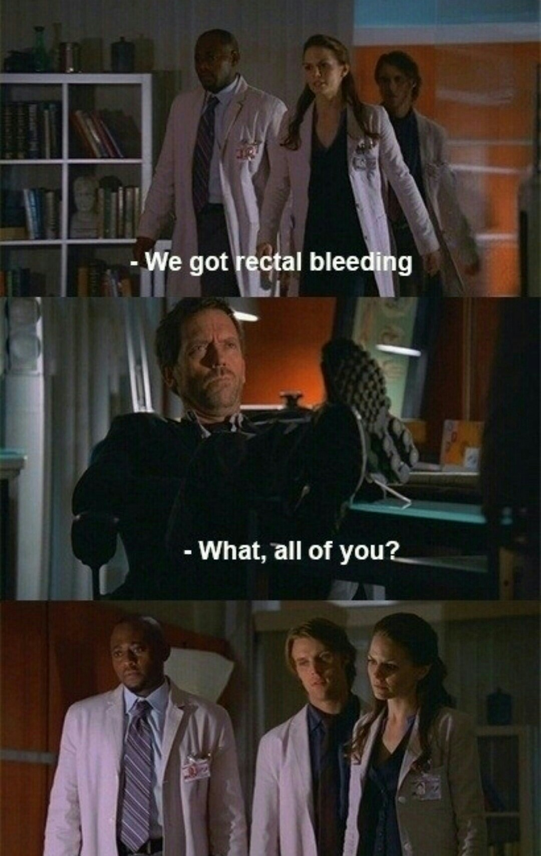 I miss House. One of the best tv series ever - meme