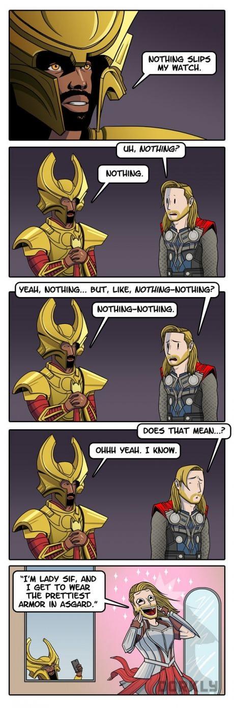 Dammit Thor - meme
