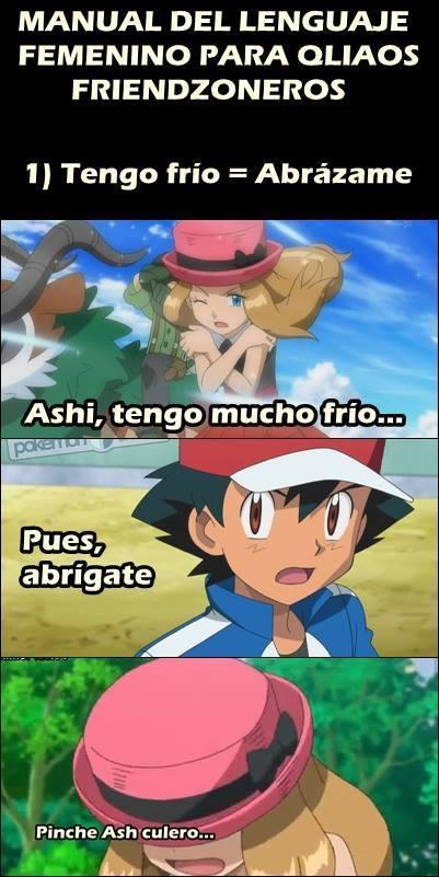 Como tanto Ash!! - meme