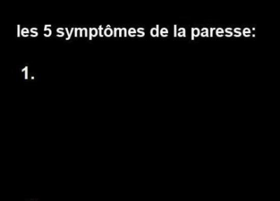 Voilà les 5 symptômes de la par ... - meme