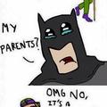 Poor Batman..