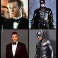 Christian Bale suit for the win! Ben Affleck looks pretty awful :(