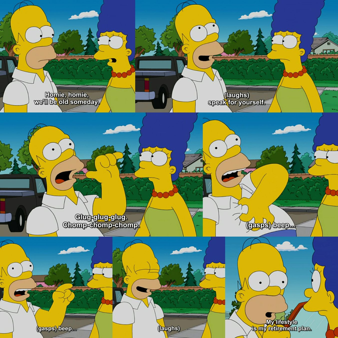 Homer's answer to life - meme