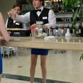 Mmhh, I didn't know bartenders have nice legs like mine..