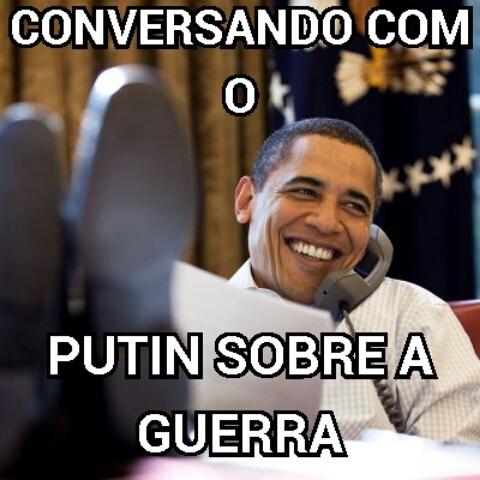 Huehue putin=obama - meme