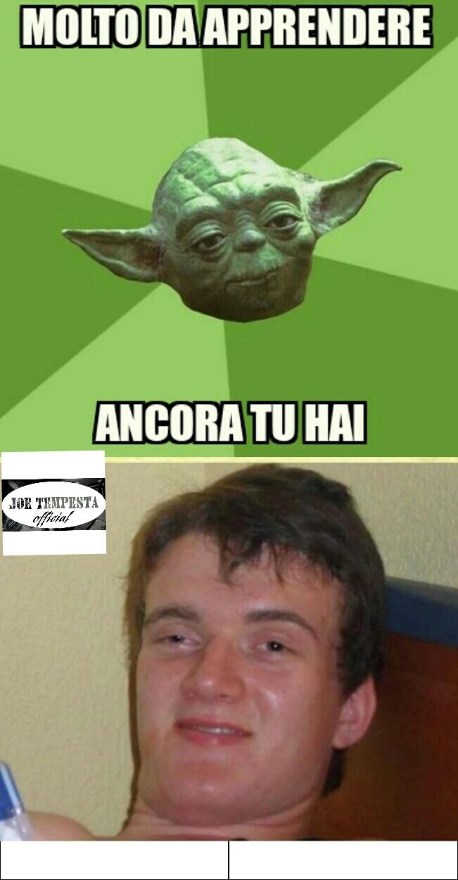 Tuo apprendista Skywalker sarà - meme