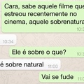 Zueira no whats