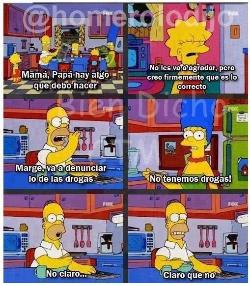 Claro que no Marge... - meme