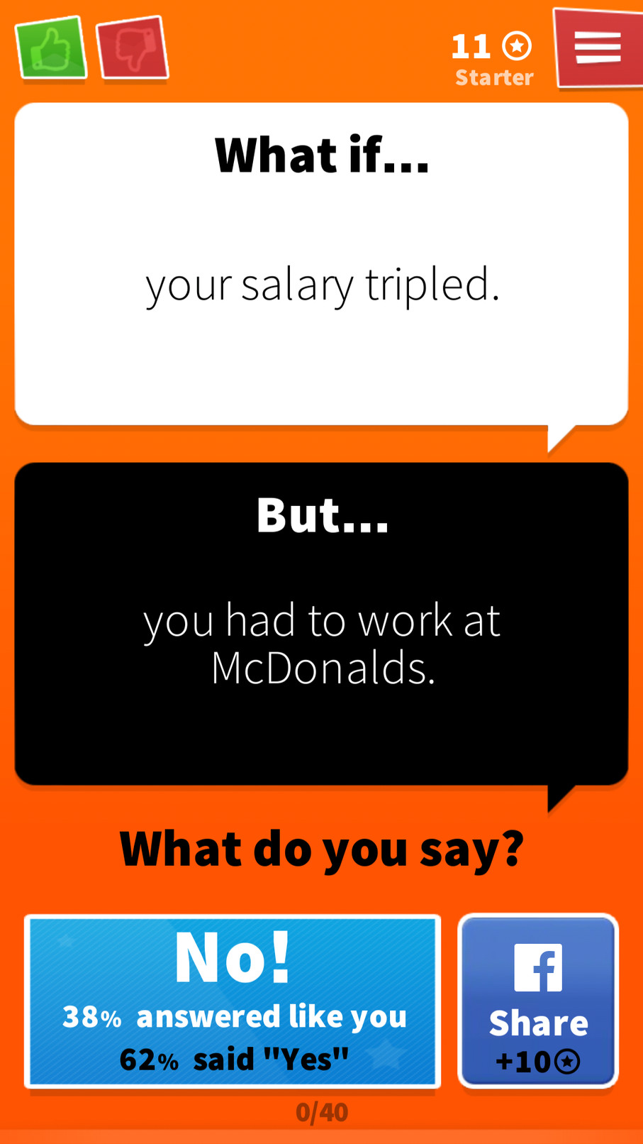 You'd be making less than 45 dollars per hour. - meme