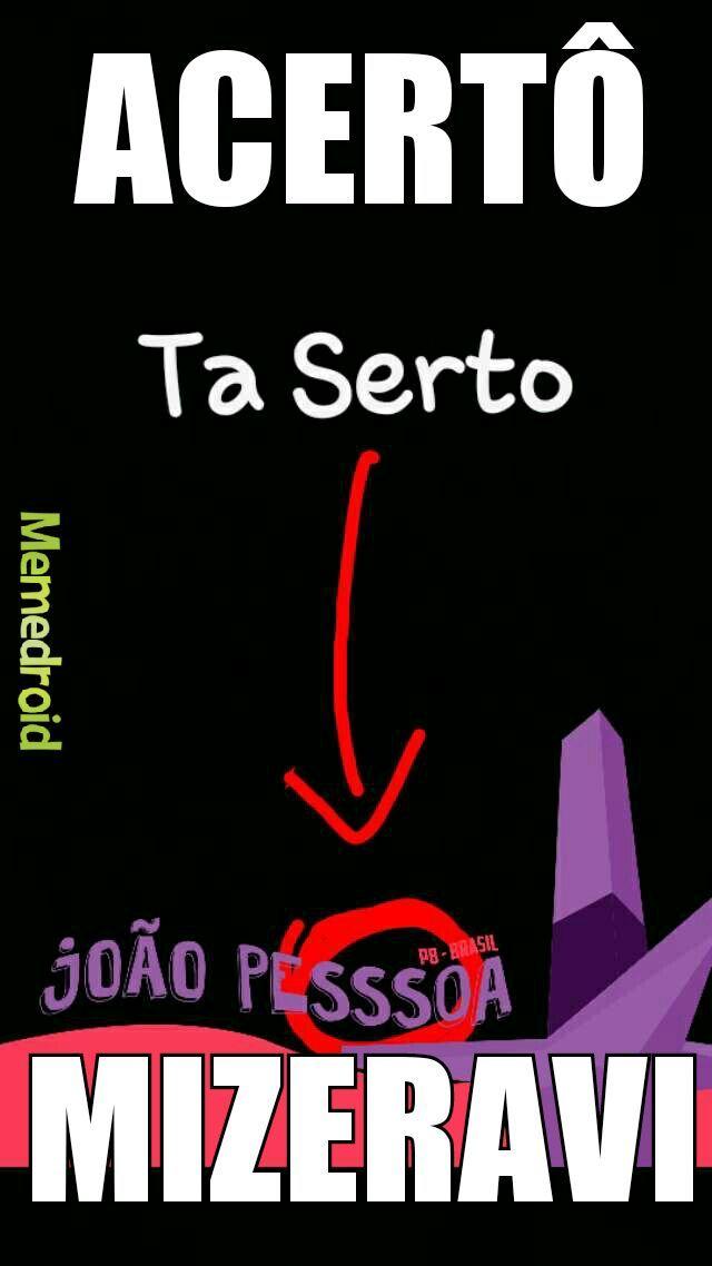 João Pessssssssoa - meme