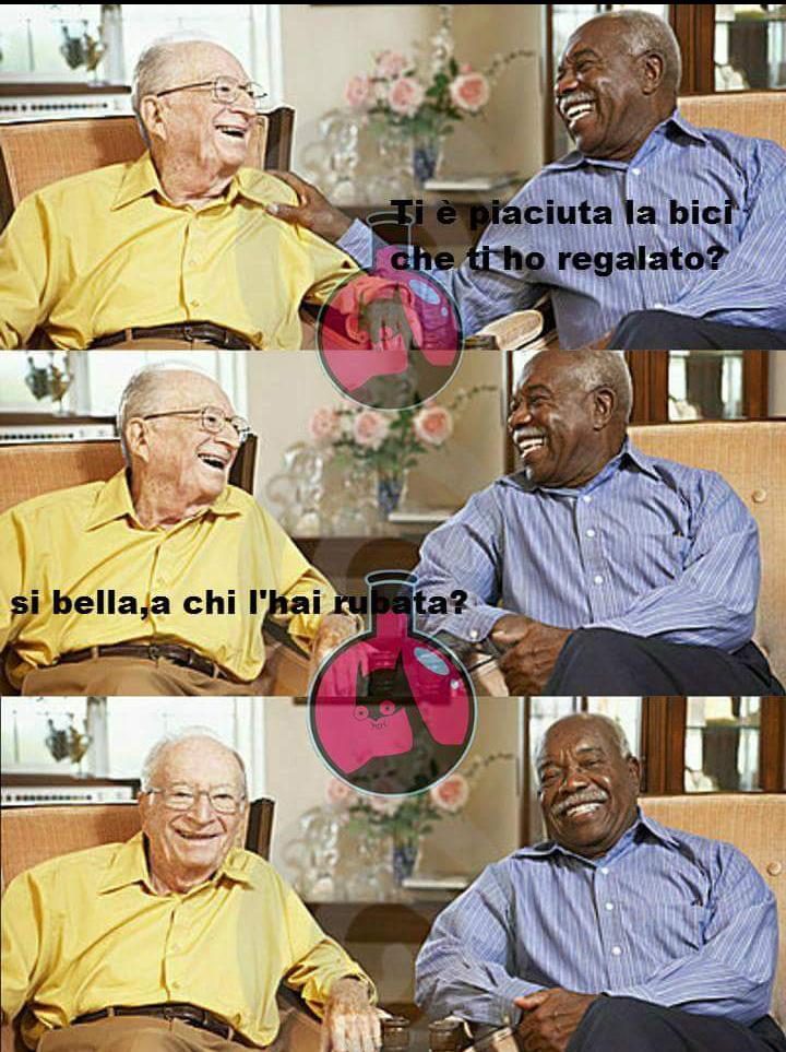 È soli Black humour non è razzismo - meme