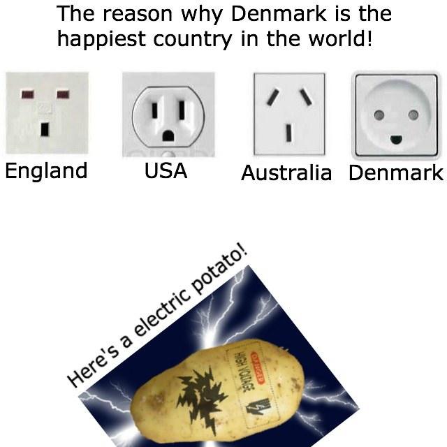 A chacun sa prise électrique - meme