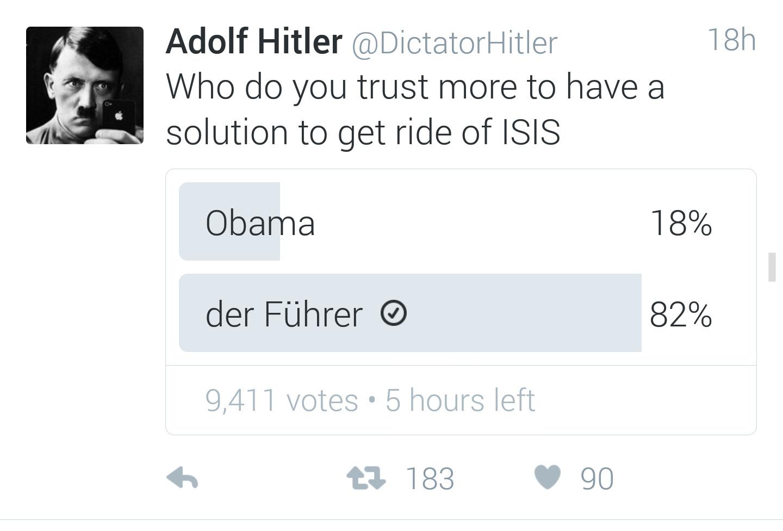 Trust in hitler - meme