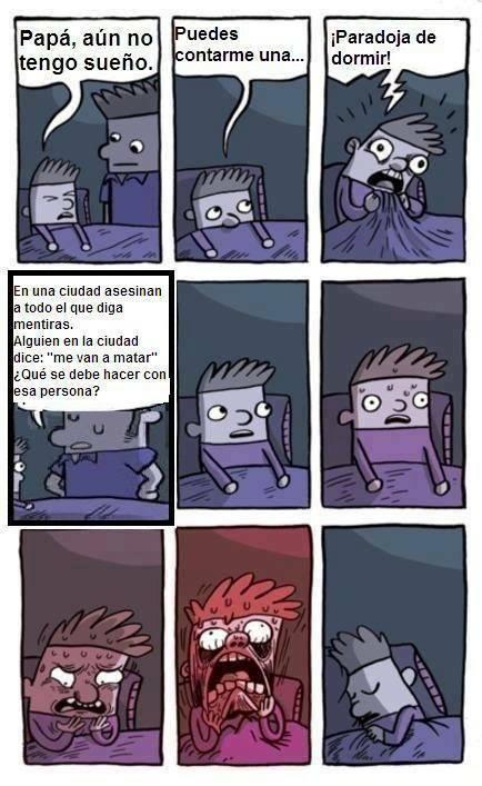 Paradoja de dormir 3 - meme