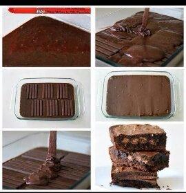 Kit Kat brownies - meme