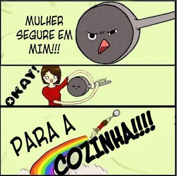 Para a COZINHAAA - meme