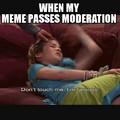 Thank you moderators