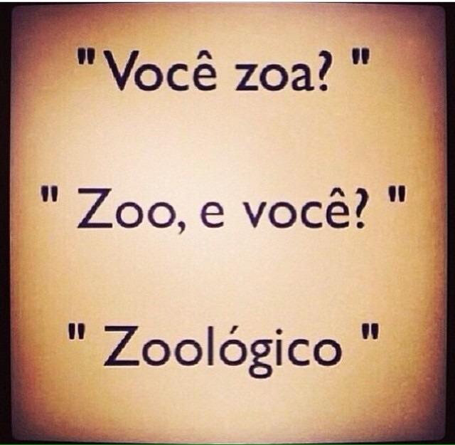 Zoa? Zoo. - meme