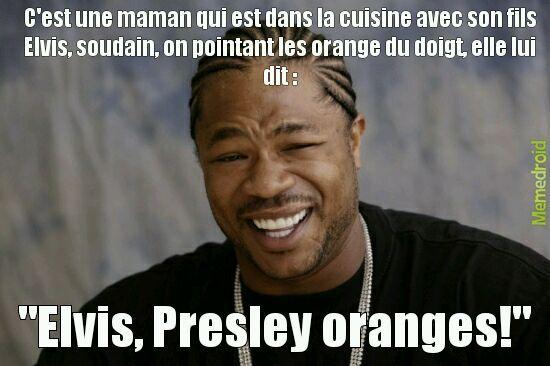 Elvis presley - meme