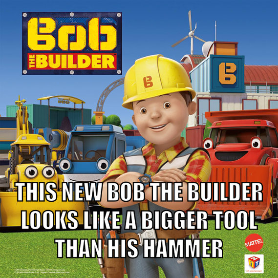 Wtf did they do to you Bob... And... Is that supposed to be Scoops, and Muck, and... and Lofty? - meme