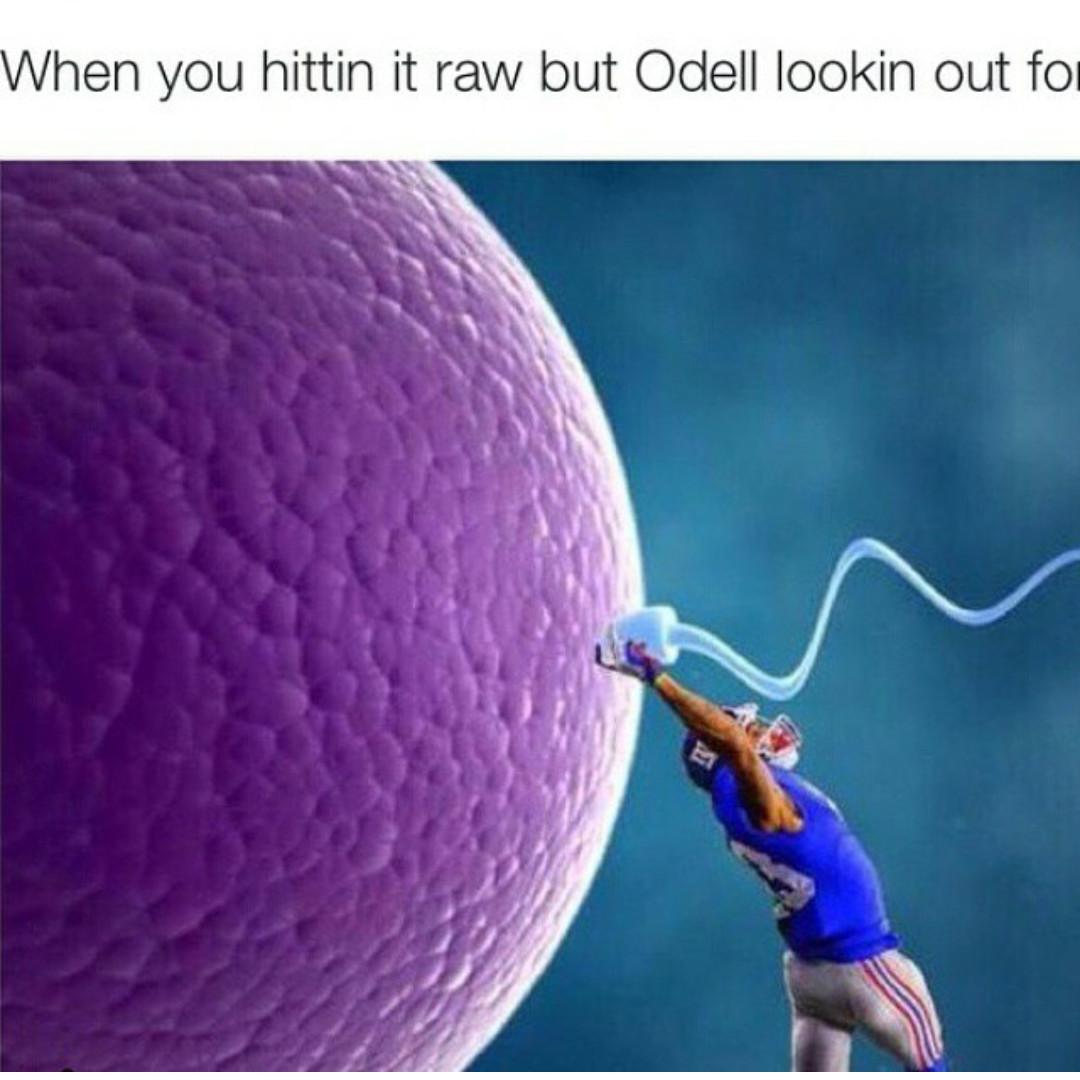 Good guy Odell - meme