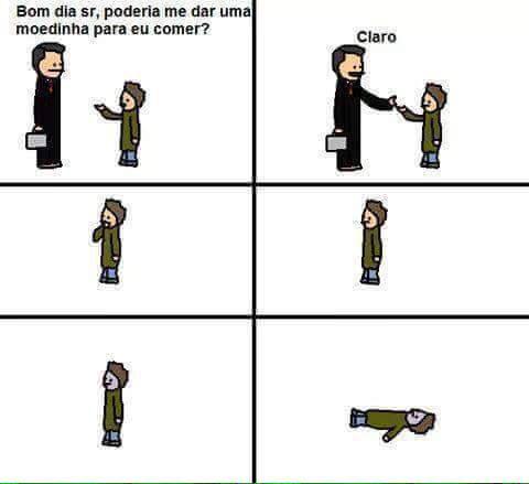 E MORREU - meme