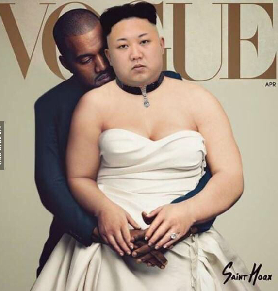 Kim and Kanye - meme