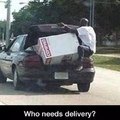 who needs delivery