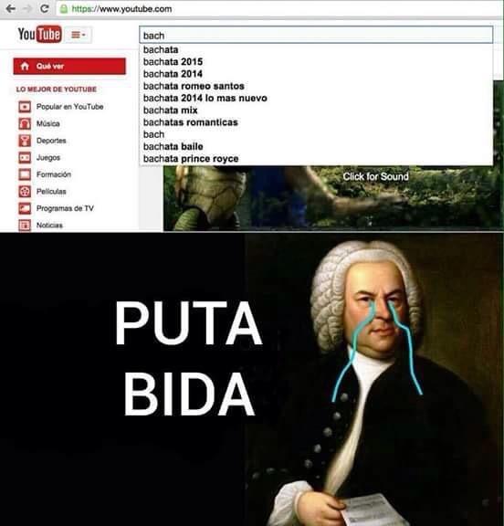 ese Bach es un lokillo - meme
