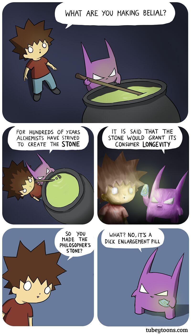 the stone everyone needs - meme