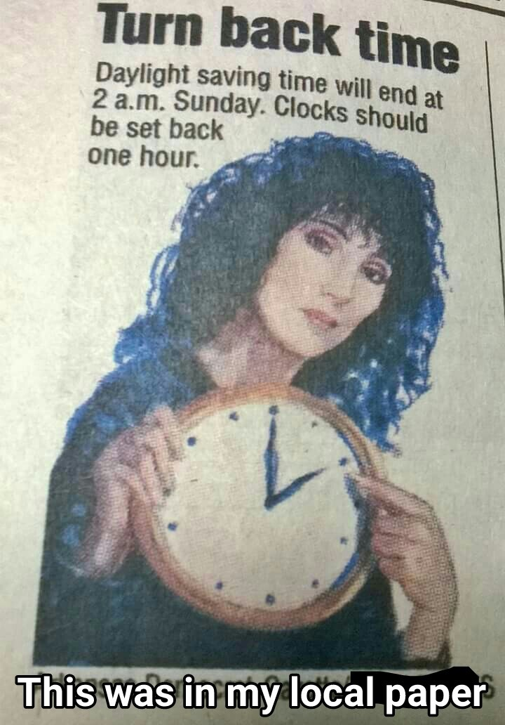 Cher knows what's up - meme
