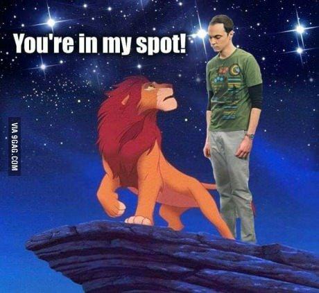 The big bang Theory - meme