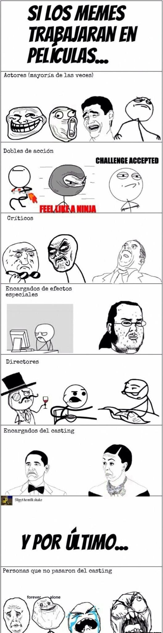 memes en películas
