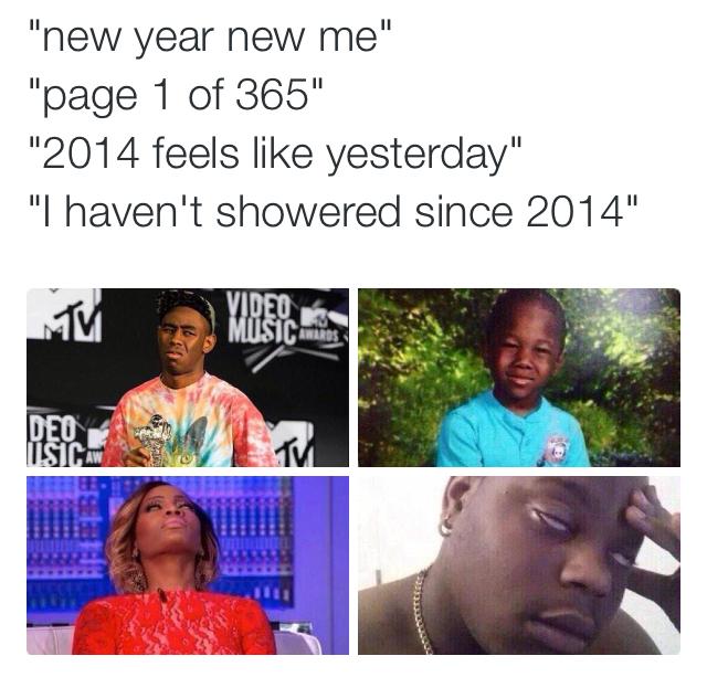 Enough of the last year jokes - meme