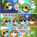 Pauvre Zelda, elle n'avait rien fait ..