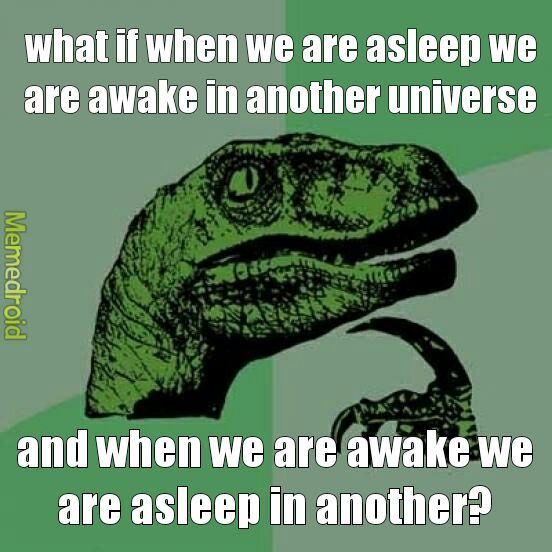 parallel universe? - meme