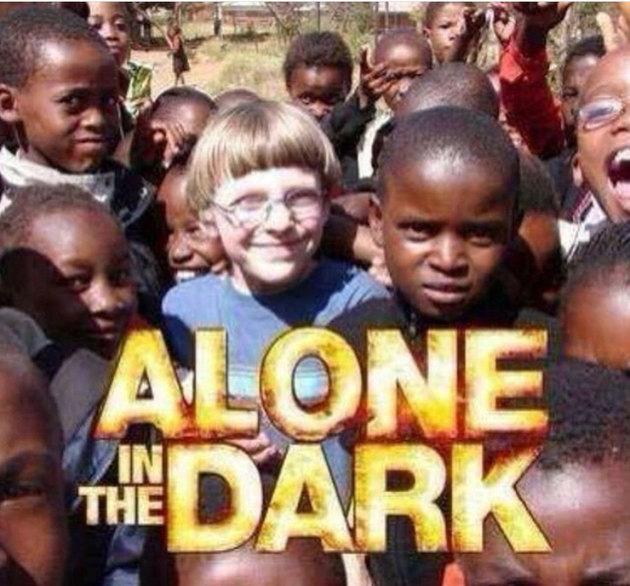 Alone in the dark - meme