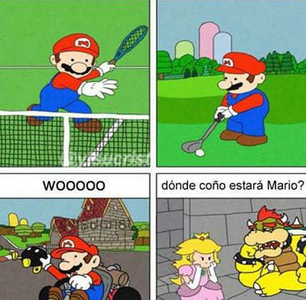 Mario se larga - meme