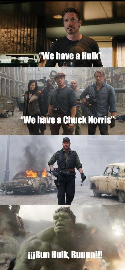 chuck norris rules - meme