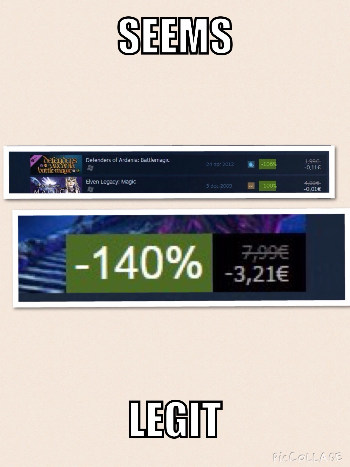 Steam summer sale! - meme