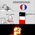 Mon premier meme de Polandball. Je sais que je dessine très mal !