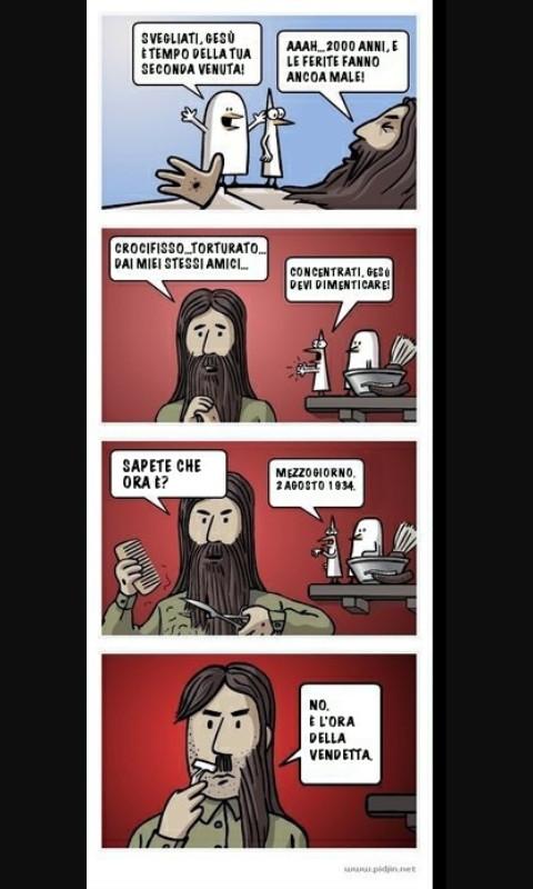 Gesus revenge - meme