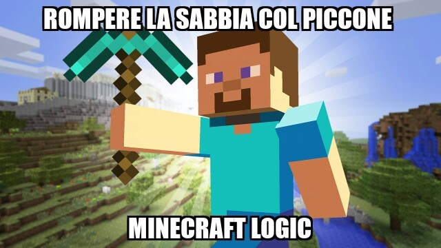 I love minecraft - meme