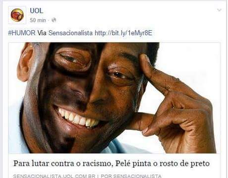 Porra Pelé - meme