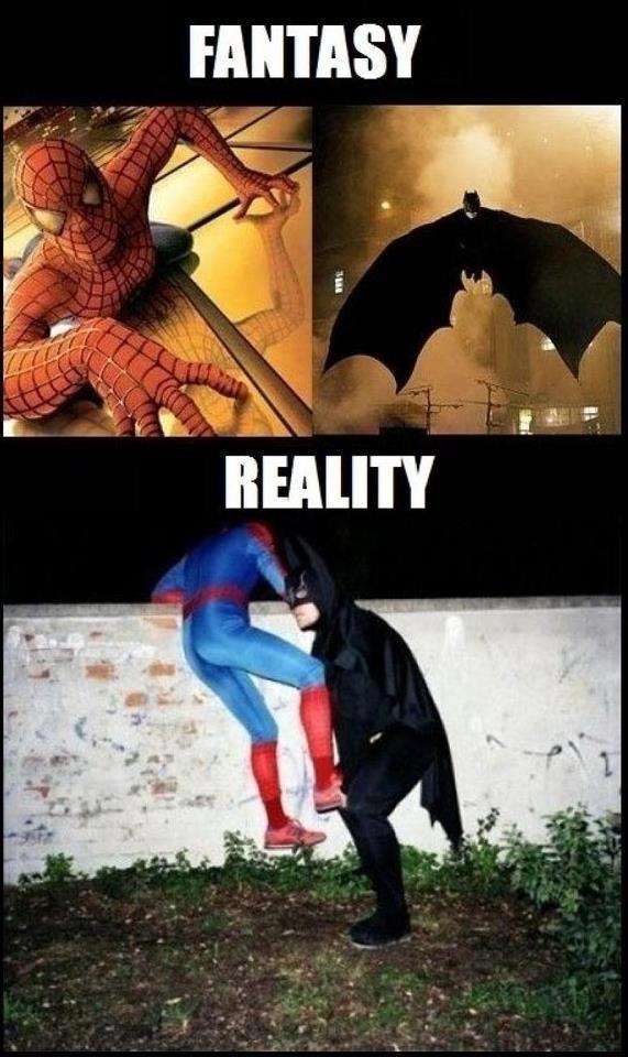 Les vrais heros - meme