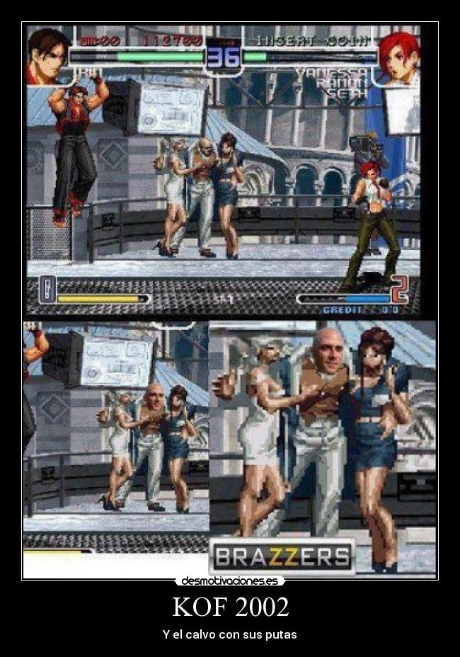 The king of fighters - meme