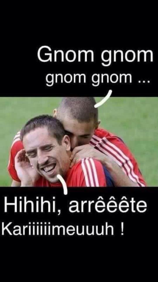 Karim et Ribéry - meme